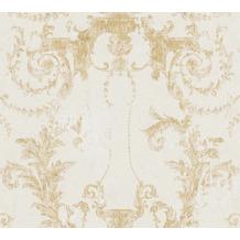 AS Création Vliestapete History of Art Barocktapete gold creme 376482 10,05 m x 0,53 m