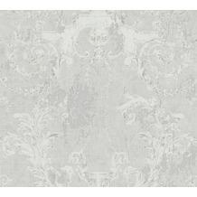 AS Création Vliestapete History of Art Barocktapete grau 376531 10,05 m x 0,53 m