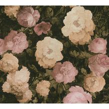 AS Création Vliestapete History of Art Rosentapete rosa creme grün 376501 10,05 m x 0,53 m