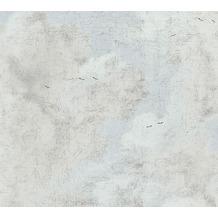 AS Création Vliestapete History of Art Tapete in Vintage Optik creme weiß blau 376491 10,05 m x 0,53 m
