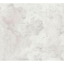 AS Création Vliestapete History of Art Tapete in Vintage Optik weiß grau 376494 10,05 m x 0,53 m