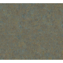 AS Création Vliestapete History of Art Unitapete braun grün 376561 10,05 m x 0,53 m