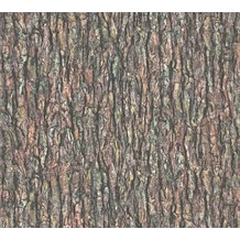 AS Création Vliestapete Il Decoro Tapete in Baumrinden Optik beige braun grün 368721 10,05 m x 0,53 m