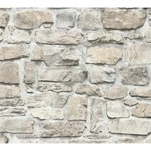 AS Création Vliestapete Il Decoro Tapete in Naturstein Optik beige grau 363702 10,05 m x 0,53 m
