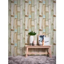 AS Création Vliestapete Il Decoro Tapete in Vintage Holz Optik beige braun creme 368942 10,05 m x 0,53 m