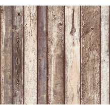 AS Création Vliestapete Il Decoro Tapete in Vintage Holz Optik beige braun grau 362822 10,05 m x 0,53 m