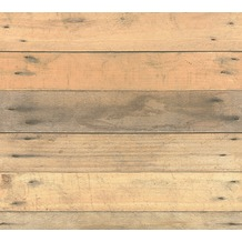 AS Création Vliestapete Il Decoro Tapete in Vintage Holz Optik beige braun grau 368701 10,05 m x 0,53 m