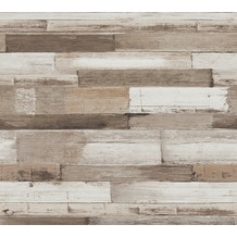 AS Création Vliestapete Il Decoro Tapete in Vintage Holz Optik braun grau 368573 10,05 m x 0,53 m