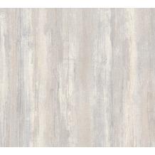 AS Création Vliestapete Il Decoro Tapete in Vintage Optik beige grau metallic 367501 10,05 m x 0,53 m