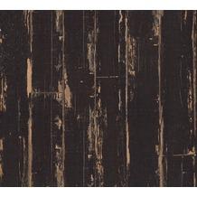 AS Création Vliestapete Il Decoro Tapete in Vintage Optik braun schwarz 368562 10,05 m x 0,53 m