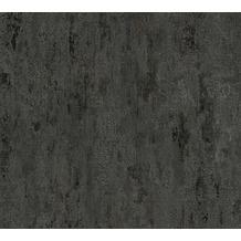 AS Création Vliestapete Il Decoro Tapete in Vintage Optik grau metallic schwarz 326515 10,05 m x 0,53 m