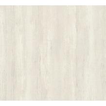 AS Création Vliestapete Il Decoro Tapete in Vintage Optik grau metallic weiß 367503 10,05 m x 0,53 m