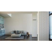 AS Création Vliestapete Life 4 Tapete beige creme metallic 10,05 m x 0,53 m