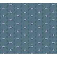 AS Création Vliestapete Life 4 Tapete blau grau 356053 10,05 m x 0,53 m