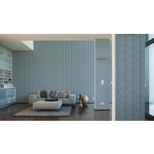 AS Création Vliestapete Life 4 Tapete blau weiß 356042 10,05 m x 0,53 m