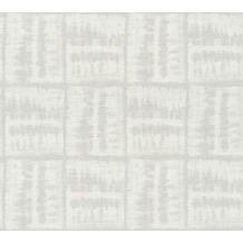 AS Création Vliestapete Linen Style Tapete beige grau weiß 366372 10,05 m x 0,53 m