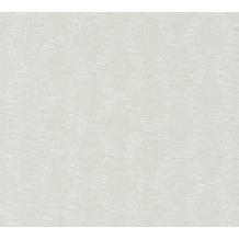 AS Création Vliestapete Linen Style Tapete geometrisch grafisch beige grau weiß 366382 10,05 m x 0,53 m