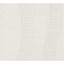 AS Création Vliestapete Linen Style Tapete geometrisch grafisch beige grau weiß 367582 10,05 m x 0,53 m