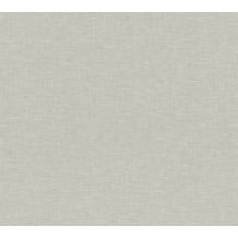 AS Création Vliestapete Linen Style Tapete Uni beige grau 366346 10,05 m x 0,53 m