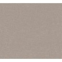 AS Création Vliestapete Linen Style Tapete Uni braun 366349 10,05 m x 0,53 m