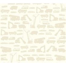 AS Création Vliestapete Little Stars Ökotapete PVC-frei beige 358153 10,05 m x 0,53 m