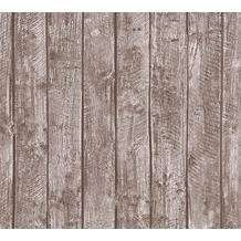 AS Création Vliestapete Little Stars Ökotapete PVC-frei braun 358411 10,05 m x 0,53 m
