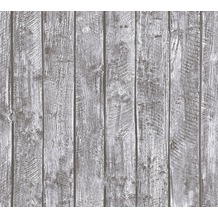AS Création Vliestapete Little Stars Ökotapete PVC-frei grau 358412 10,05 m x 0,53 m