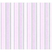AS Création Vliestapete Little Stars Ökotapete PVC-frei metallic rosa weiß 358494 10,05 m x 0,53 m