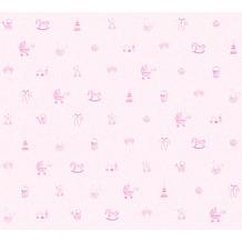 AS Création Vliestapete Little Stars Ökotapete PVC-frei rosa 358541 10,05 m x 0,53 m
