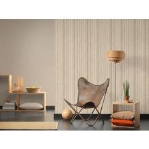 AS Création Vliestapete Materials Tapete beige braun 10,05 m x 0,53 m