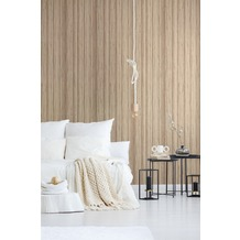 AS Création Vliestapete Materials Tapete beige creme 10,05 m x 0,53 m
