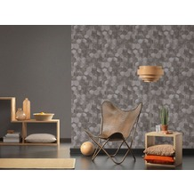 AS Création Vliestapete Materials Tapete braun 10,05 m x 0,53 m