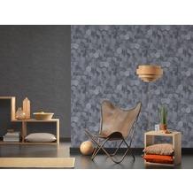 AS Création Vliestapete Materials Tapete grau 10,05 m x 0,53 m
