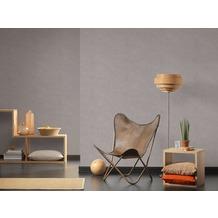 AS Création Vliestapete Materials Tapete grau beige 10,05 m x 0,53 m