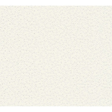 AS Création Vliestapete mit Glitter Blooming Tapete floral metallic weiß 372651 10,05 m x 0,53 m