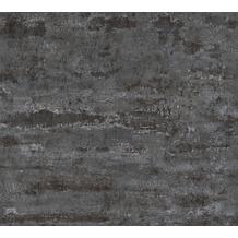 AS Création Vliestapete Neue Bude 2.0 Edition 2 Stones & Structure schwarz 374154 10,05 m x 0,53 m