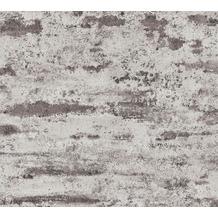 AS Création Vliestapete Neue Bude 2.0 Edition 2 Stones & Structure schwarz grau 374155 10,05 m x 0,53 m