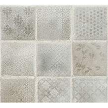 AS Création Vliestapete Neue Bude 2.0 Edition 2 Tropical Concret grau beige creme 373883 10,05 m x 0,53 m