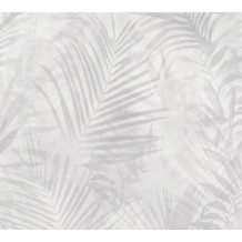 AS Création Vliestapete Neue Bude 2.0 Edition 2 Tropical Concret grau weiß creme 374115 10,05 m x 0,53 m
