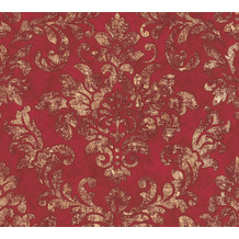 AS Création Vliestapete Neue Bude 2.0 Edition 2 Used Glam barock rot metallic 374131 10,05 m x 0,53 m