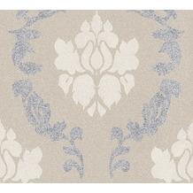 AS Création Vliestapete New Elegance Barocktapete beige creme grau 375524 10,05 m x 0,53 m