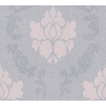 AS Création Vliestapete New Elegance Barocktapete grau rosa 375523 10,05 m x 0,53 m