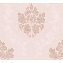 AS Création Vliestapete New Elegance Barocktapete rosa metallic creme 375525 10,05 m x 0,53 m