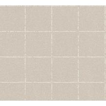 AS Création Vliestapete New Elegance Fliesentapete beige creme 375514 10,05 m x 0,53 m