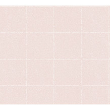 AS Création Vliestapete New Elegance Fliesentapete creme rosa 375513 10,05 m x 0,53 m