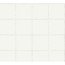 AS Création Vliestapete New Elegance Fliesentapete weiß beige 375515 10,05 m x 0,53 m