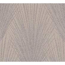 AS Création Vliestapete New Elegance Palmentapete braun beige 375531 10,05 m x 0,53 m