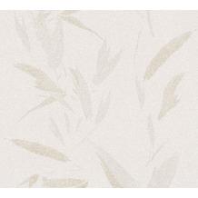 AS Création Vliestapete New Elegance Palmentapete creme beige 375495 10,05 m x 0,53 m