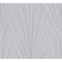 AS Création Vliestapete New Elegance Palmentapete grau 375534 10,05 m x 0,53 m