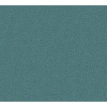AS Création Vliestapete New Elegance Unitapete grün blau 375562 10,05 m x 0,53 m